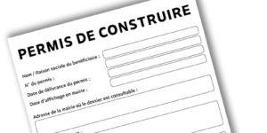 remplir le panneau d'affichage de permis de construire