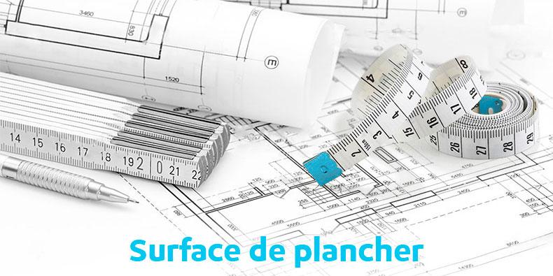 calcul de la surface de plancher