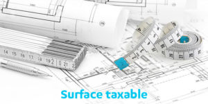 calcul de la surface taxable